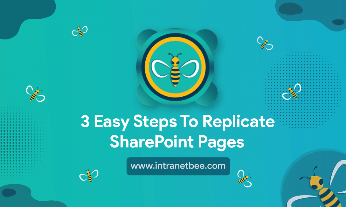 Steps to Replicate SharePoint Pages