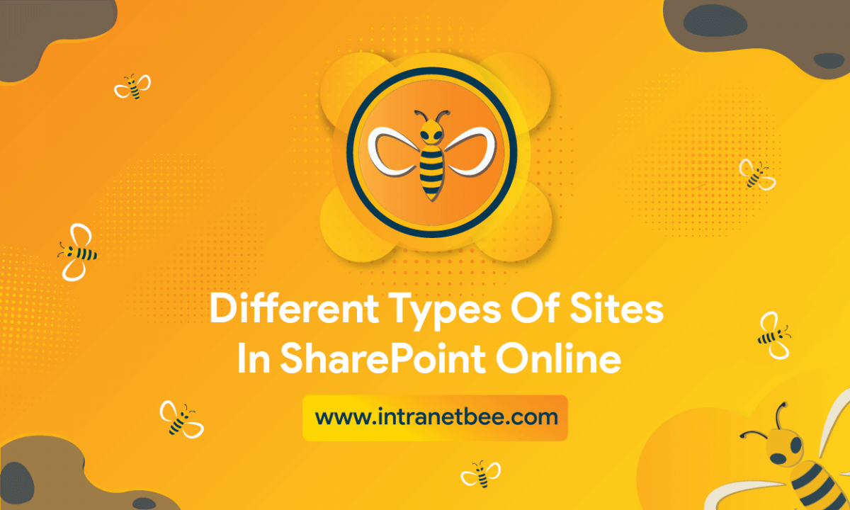 types of sites in SharePoint Online