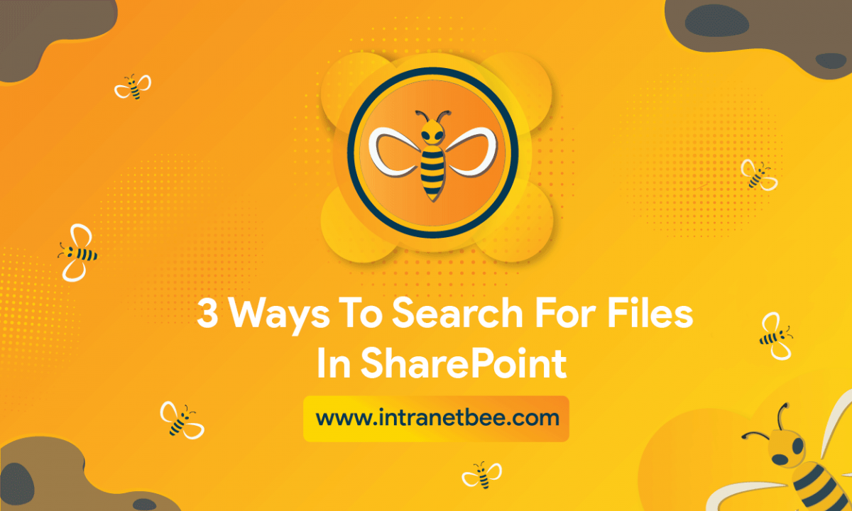 ways to Search for Files in SharePoint