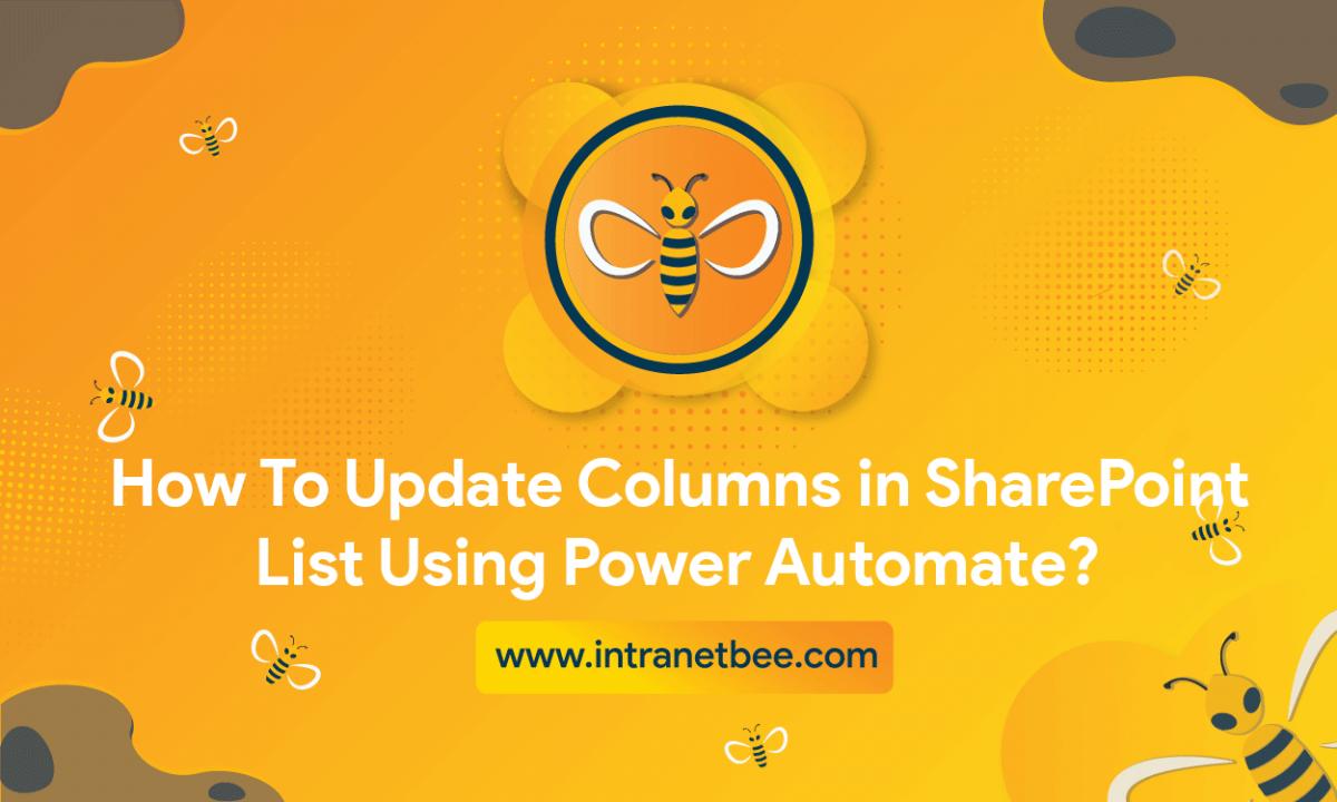 Update Columns in SharePoint List
