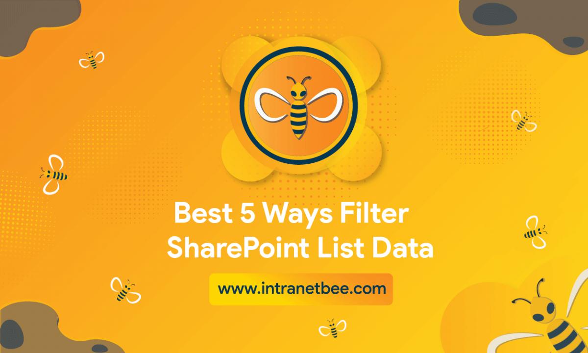 Filter SharePoint list data