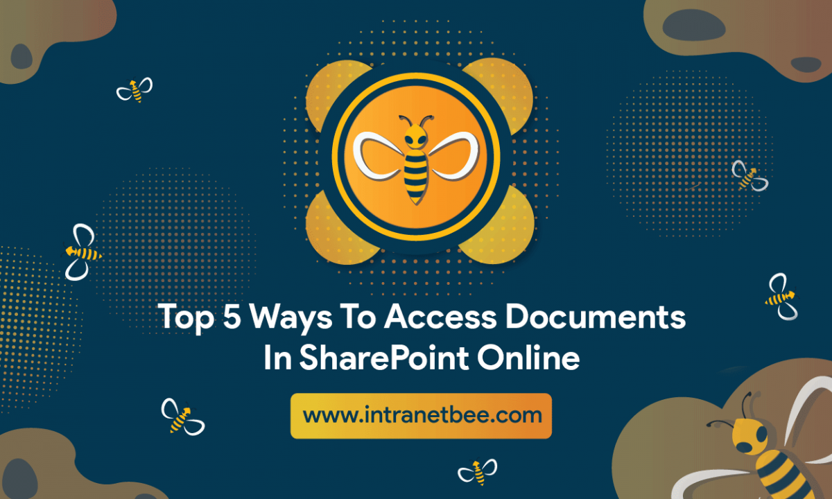 Access Documents In SharePoint Online