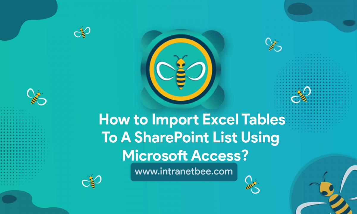 Import Excel tables to a SharePoint list