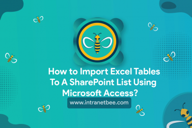How to Import Excel tables to a SharePoint list using Microsoft Access?