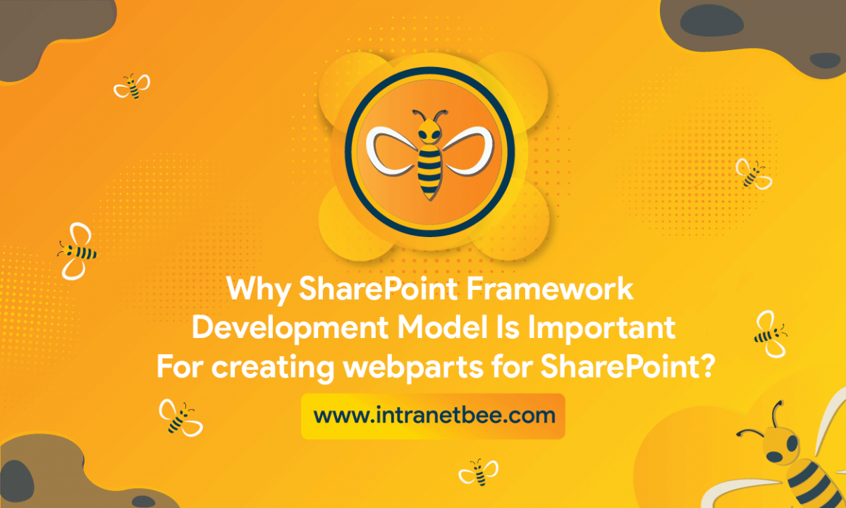 SharePoint Framework development model