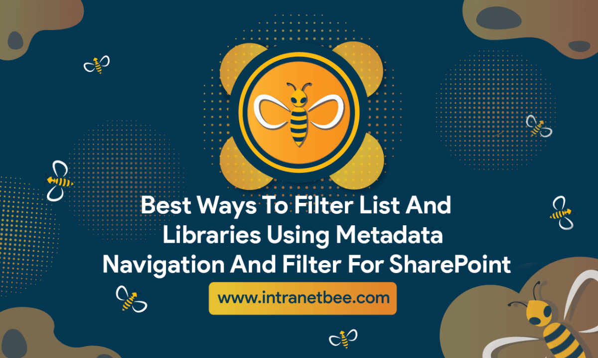 filter list and libraries using metadata navigation