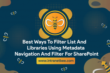 Best ways to filter list and libraries using metadata navigation and filter for SharePoint