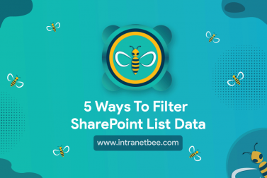 5 ways to filter SharePoint list data