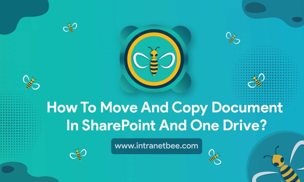 How To Move And Copy Document in SharePoint